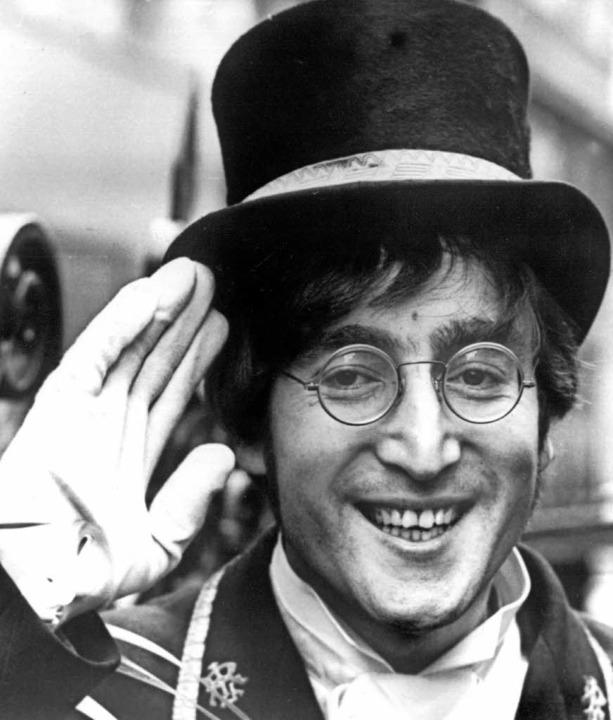Der britische Musiker John Lennon im November 1966   | Foto: archivbild: dpa