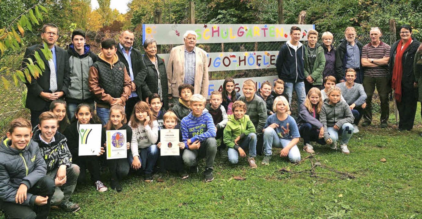 Alfred Lüthin, Vorsitzender des Kleing...eis der Schulgarteninitiative 2015/16.  | Foto: Privat