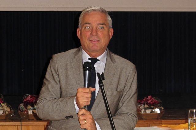 Innenminister zu Besuch in Schliengen