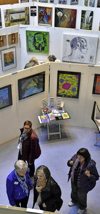 Mehr als eine Ausstellung: Der Kunstsalon in Freiburg-Tiengen.    Foto: Michael Bamberger