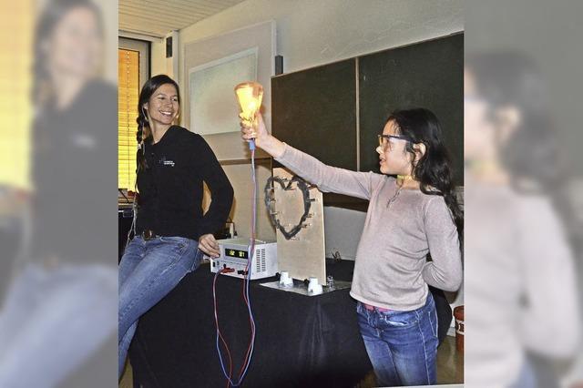 Schüler unter Strom
