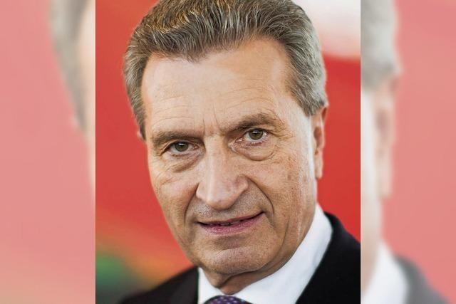 Oettinger verteidigt abfällige Äußerungen
