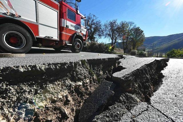 Weitere Erdbeben nicht ausgeschlossen