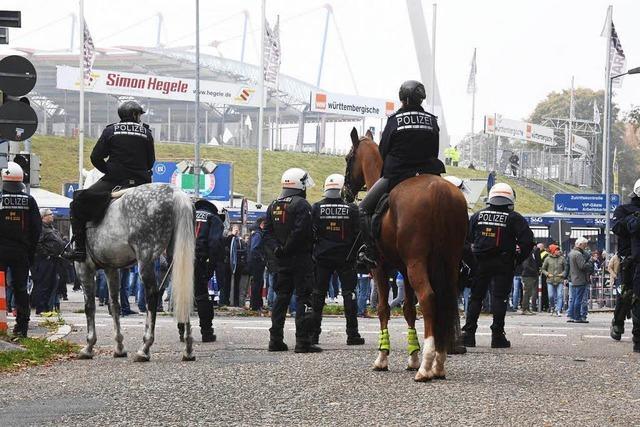 Polizei verhindert Zwischenfälle beim Zweitliga-Derby
