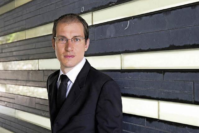 Pianist Gilles Vonsattel (Klavier) in Badenweiler