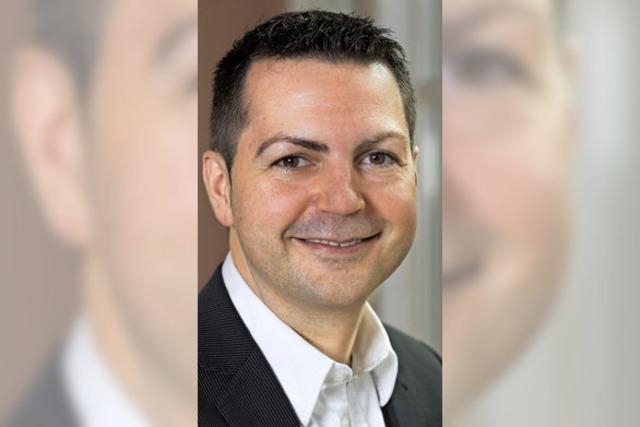 Stephan Muster vor Einzug in Gemeinderat