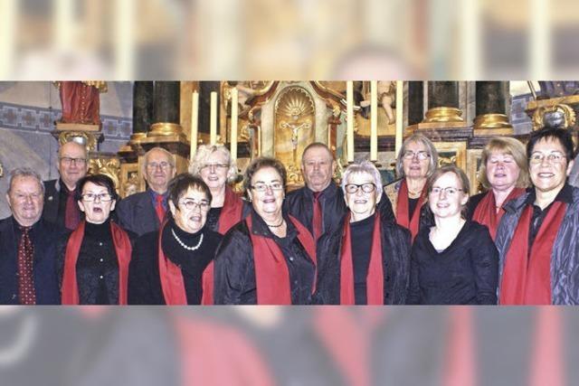 Kirchenchor feiert Jubiläum mit der