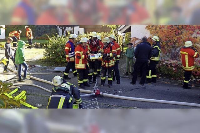 Feuer aus, Kinder gerettet