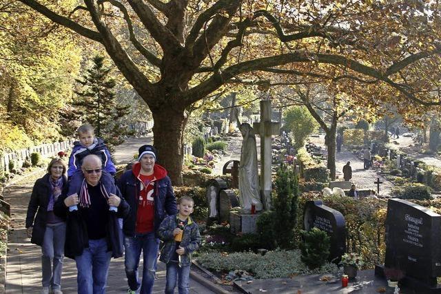 Allerheiligen auf dem Bergfriedhof