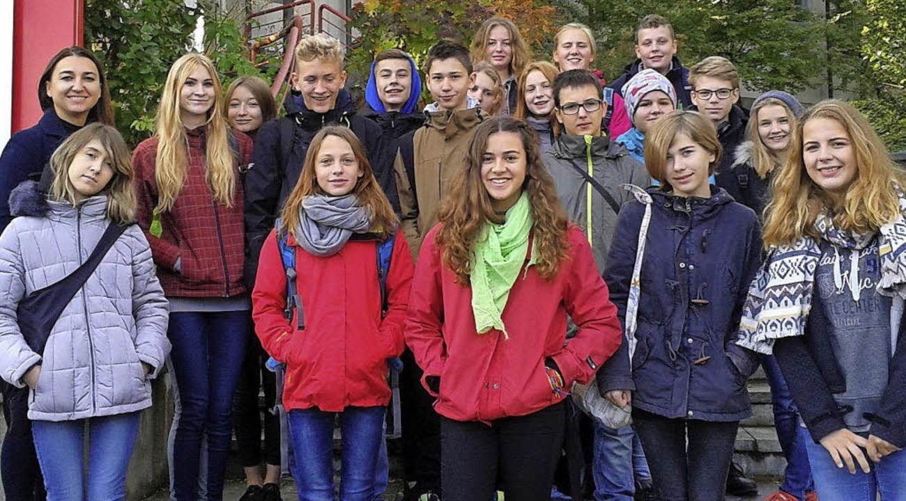 Ende Oktober fand ein Schüleraustausch...chüler reisen im Mai zum Gegenbesuch.   | Foto: Schulzentrum