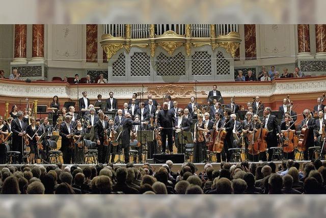 Sinfonieorchester Basel in Lörrach: Sicheres Gespür für Effekte