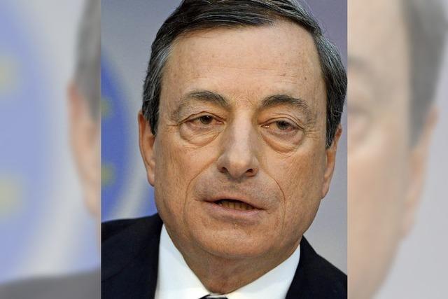 Mario Draghi - Einer, der sich nicht beirren lässt
