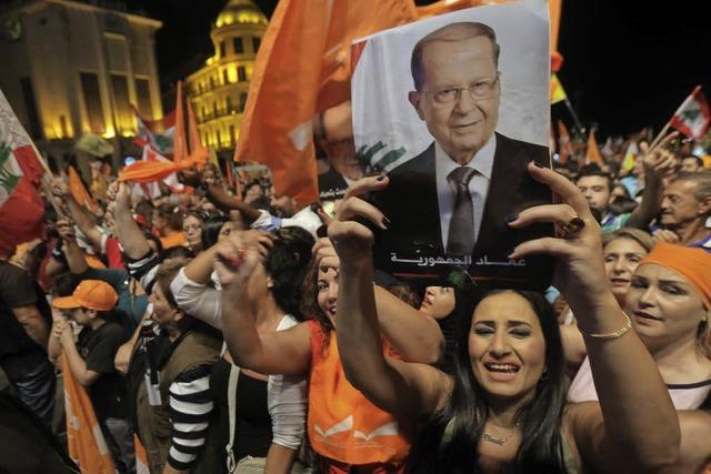Ex-General siegt im Libanon