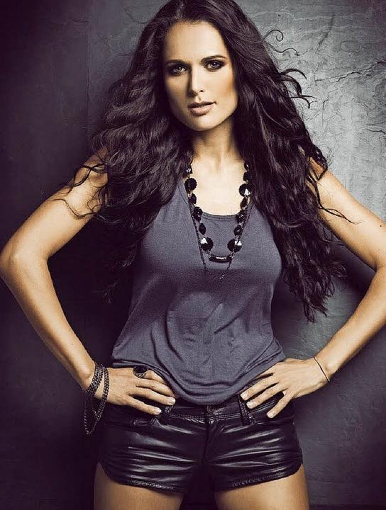 Vanessa Iraci will die Jury mit ihrer Stimme überzeugen.     Foto: Buchwalder