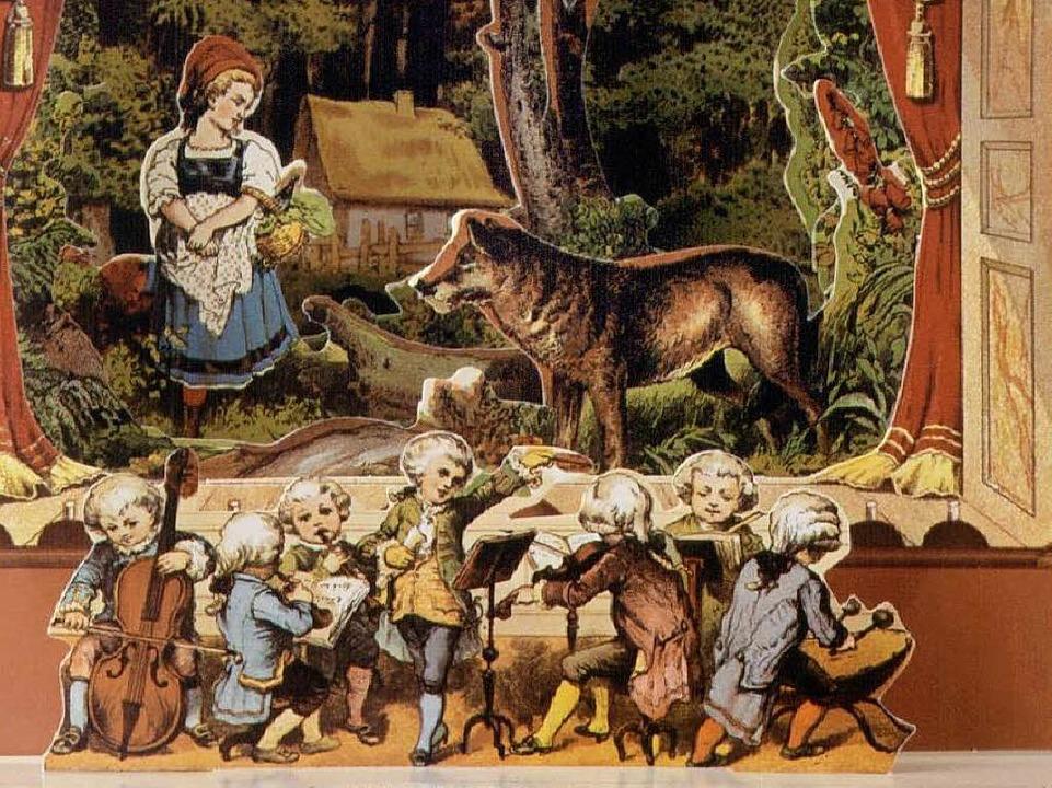 Die Rollen im Märchen sind klar verteilt. Der Wolf ist böse.  | Foto: J.F.Schreiber