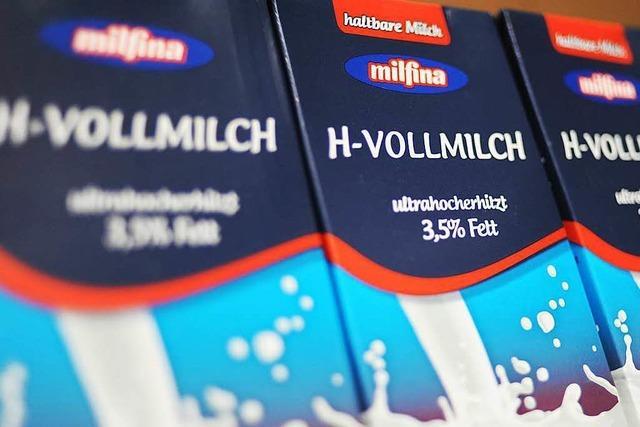 Aldi macht die Milch um mehr als 40 Prozent teurer