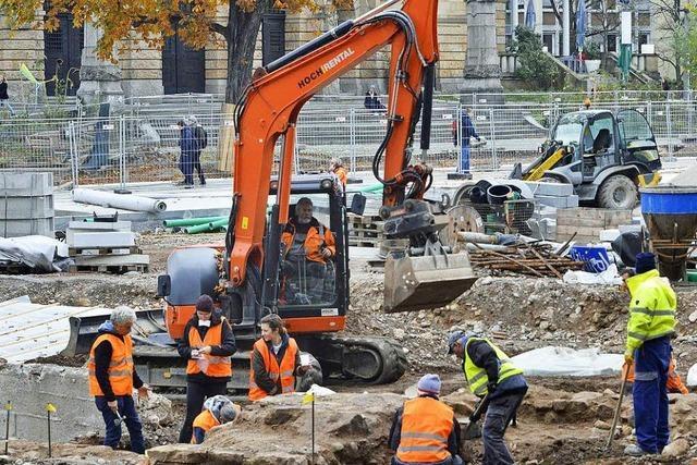 Stadt beseitigt Reste der Alten Synagoge