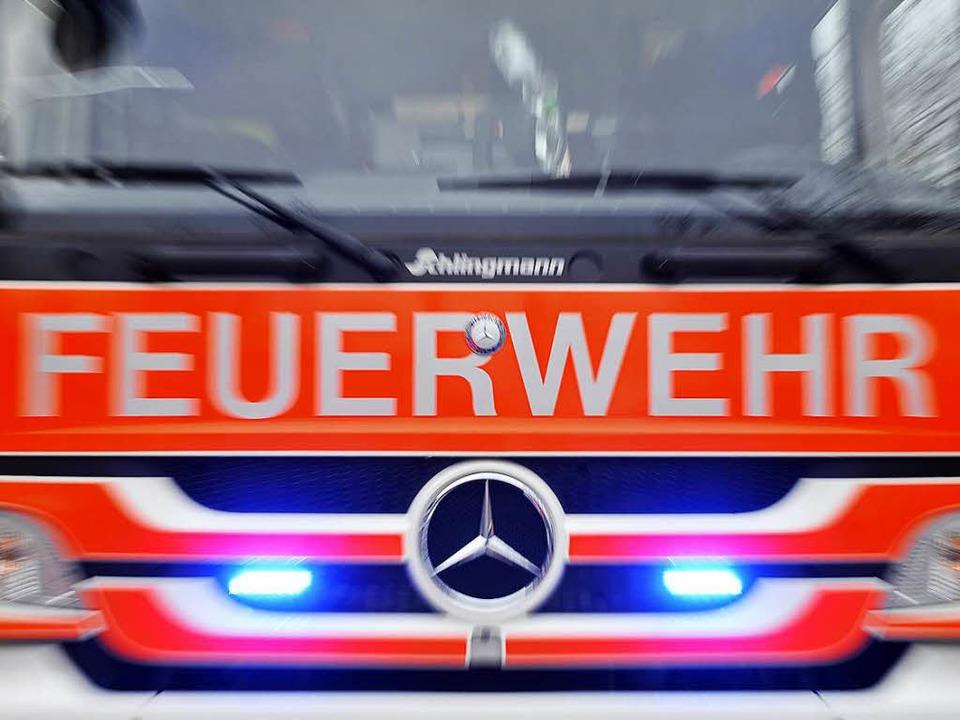 Die Feuerwehr ist am Donnerstagnachmittag in Zähringen im Einsatz (Symbolbild).  | Foto: Thomas Kunz