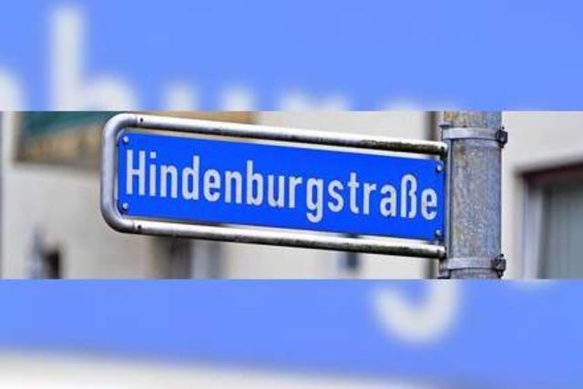 Freiburger Straßennamen
