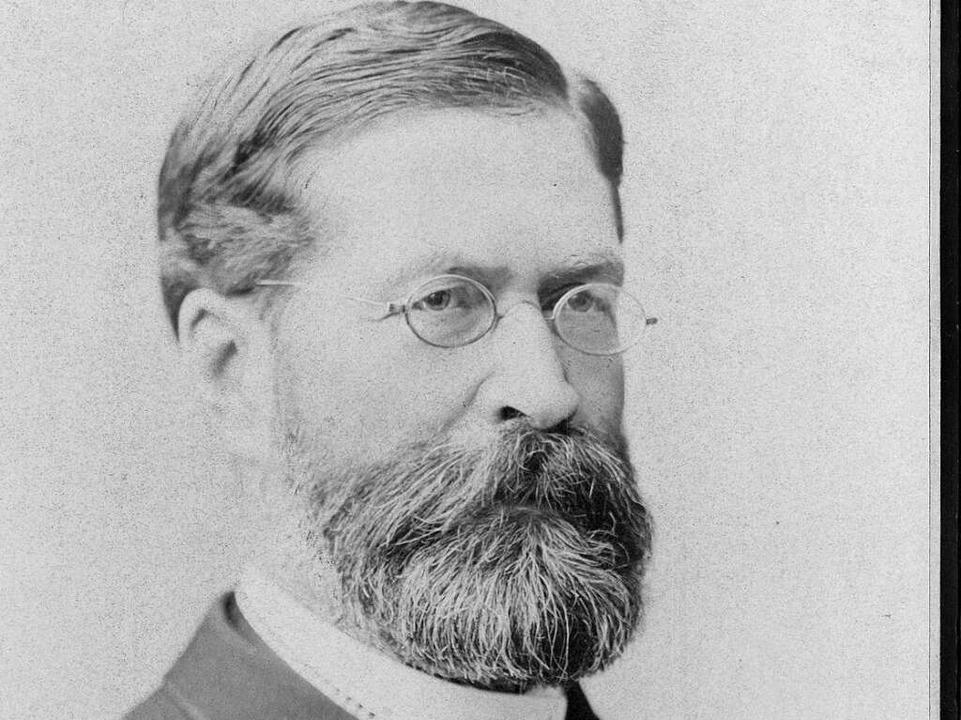 Alfred Hegar war Direktor der Freiburger Frauenklinik  | Foto: Universitätsarchiv Freiburg