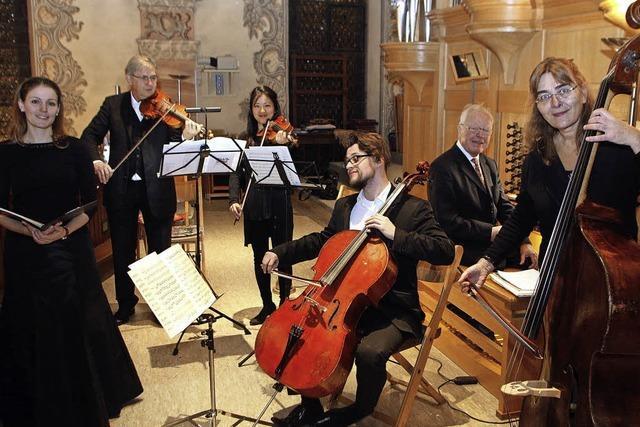 Eine kleine Oper in der Barockkirche