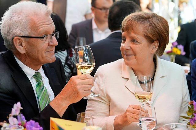 Kretschmann lobt erneut Merkel – und wird getadelt