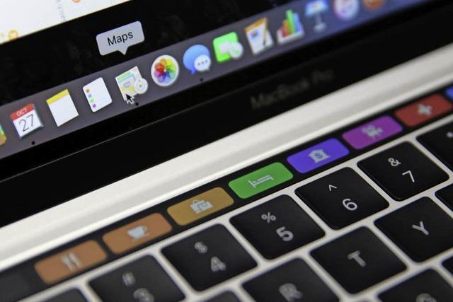 Apple gibt seinen Laptops einen anderen Touch