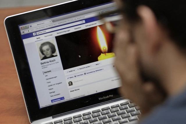 Was tun mit Online-Konten von Toten?