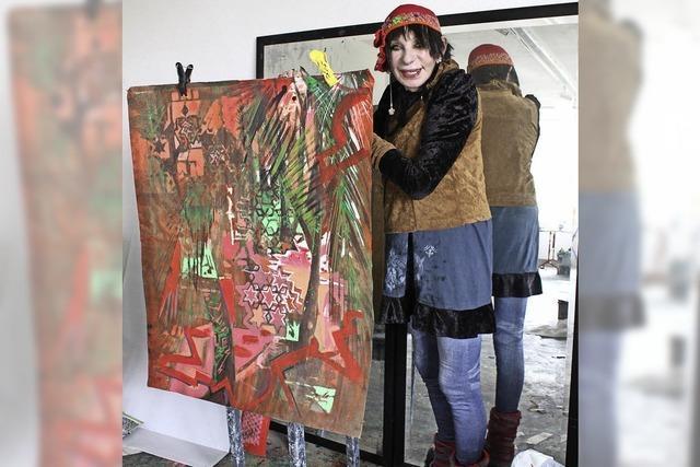 Malen lernen in fremder Kultur