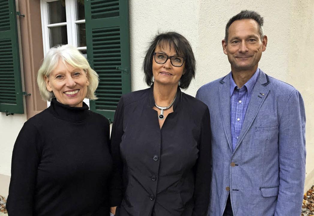 Hanne Günther, Ibo Rostert und Karl-Heinz Guy   | Foto: Pfefferle/Privat