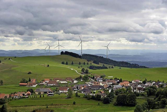 Windpark Hasel rückt in Sichtweite