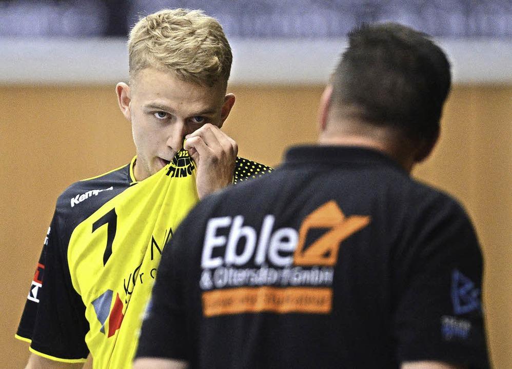 Unter Dänen. Trainer Ole Andersen muss...ereits wieder zurück in seine Heimat.     Foto: Seeger