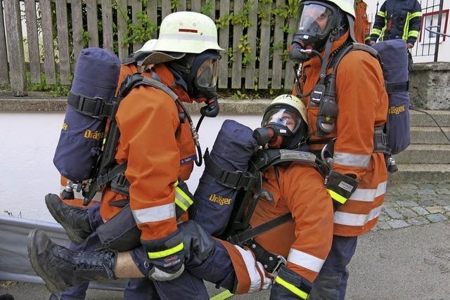 Tadellose Leistung der Feuerwehrabteilung