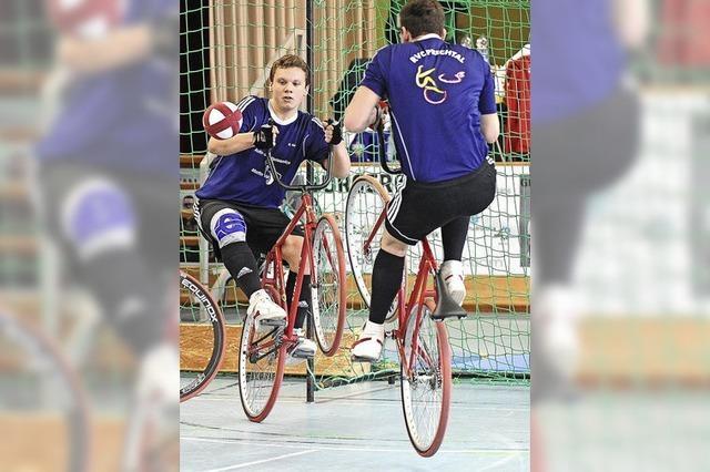 Oberliga-Radball in Prechtal