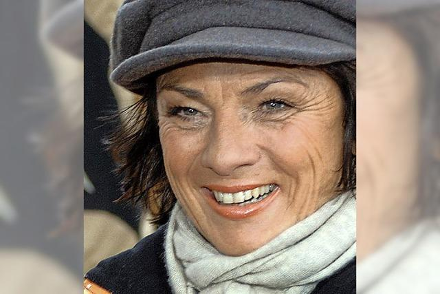 SWR-Moderatorin Sonja Faber-Schrecklein erthält Narrenpreis der Breisgauer Narrenzunft