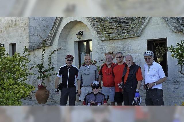 Radtour nach Apulien
