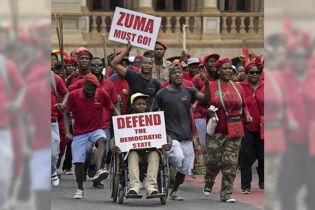 Neue Korruptionsvorwürfe gegen Zuma