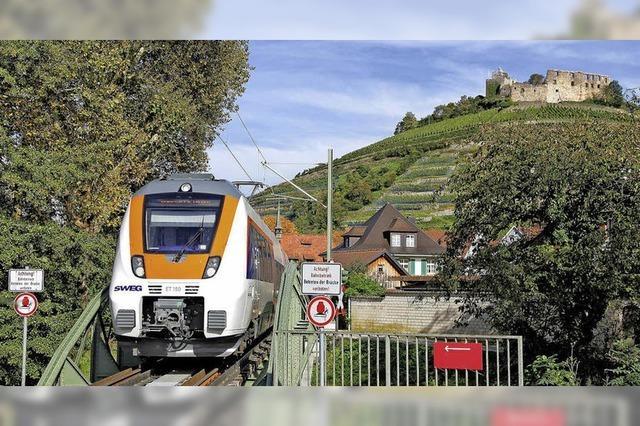 Eisenbahn gestern und heute in Südbaden