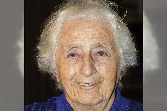 Karolina Zipfel wird 85
