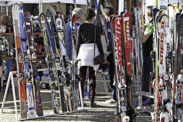 Verkaufsoffener Sonntag und Brettlemarkt in Kirchzarten