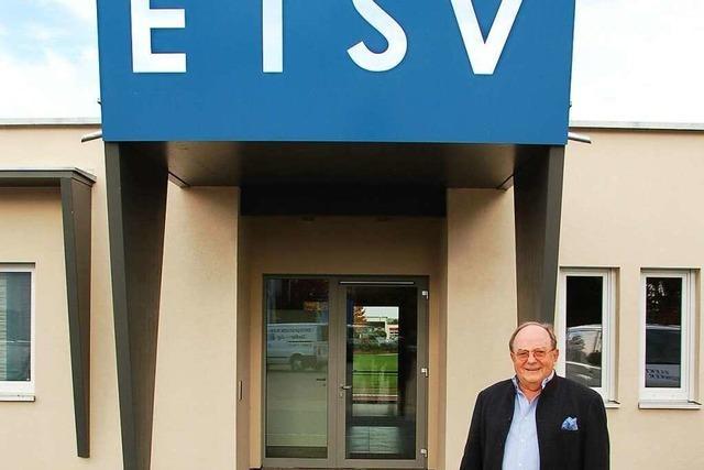 Der ETSV hat ein neues, schmuckes Vereinslokal