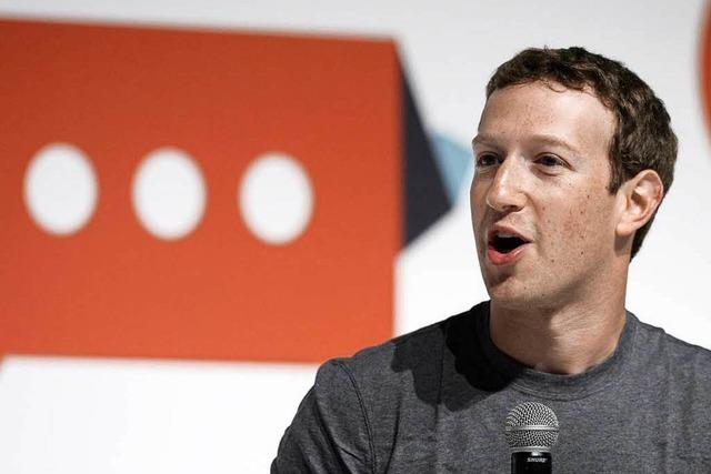 Ermittlungen gegen Facebook-Chef Zuckerberg - Facebook weist Vorwürfe zurück