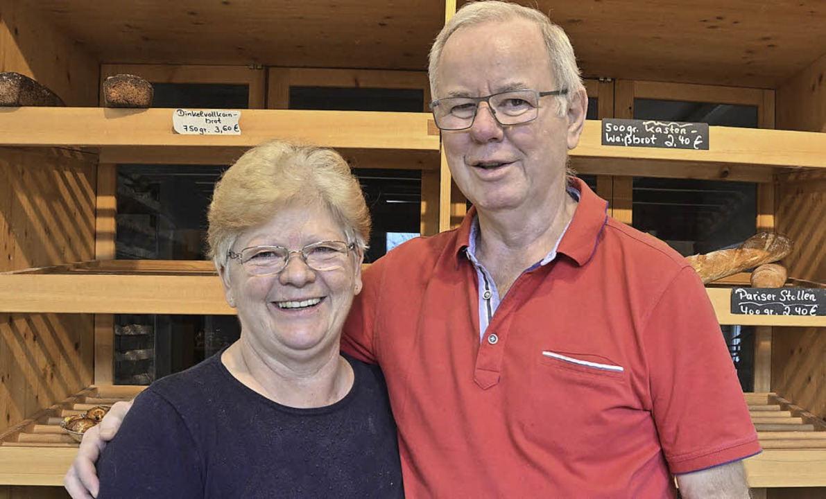Josef und Trudi Schmid  | Foto: Hildegard Siebold