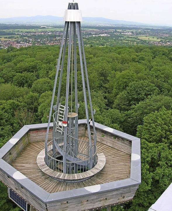 So leer ist die Turmkanzel nur in Ausnahmefällen.  | Foto: Sylvia-Karina Jahn