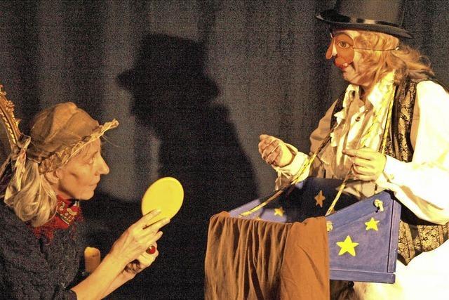 Ein sehr intimes Theatererlebnis