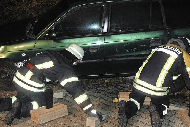 Feuerwehrlehrgang in St. Blasien