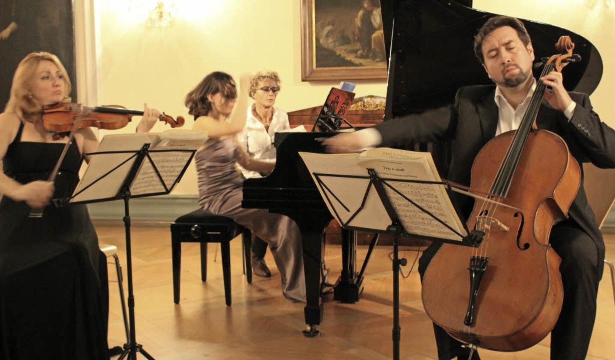 Das mitreißende Spiel des Trios aus Ul...ürstensaal in St. Peter das Publikum.   | Foto: Erich Krieger
