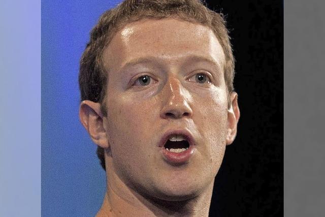 Ermittlungen gegen den Facebook-Chef