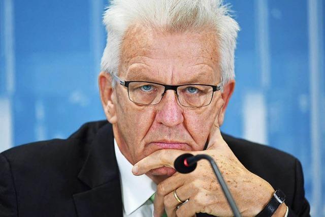 Die Grünen mit der Frage, wer Kretschmann beerben soll