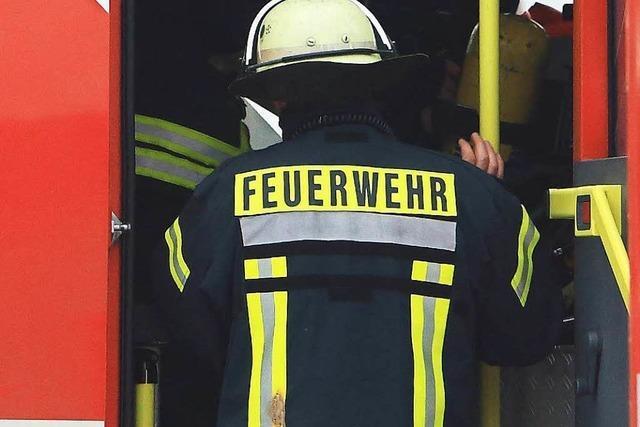 Vier Feuerwehreinsätze am Wochenende